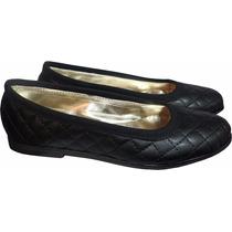 Zapatos Chatitas Balerinas En Matelasse Talles Grandes