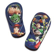 Ojotas Sandalias Nene Toy Story Disney Store Woody Buzz