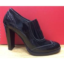 Zapatos De Charol Taco Alto En Número 37. Muy Elegantes!!