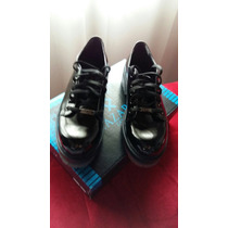 Zapatos Acordonados De Charol