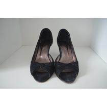 Zapatos Con Taco Bajo Paruolo / Talle 37 - Usados