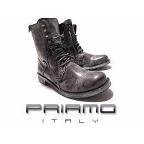 Borcegos Rear Zip Priamo Italy Hombre [pr001340]