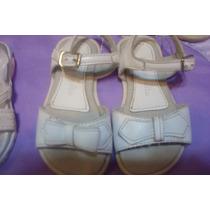 Sandalias Botantanguitas Nº 22 Blancas (nena)