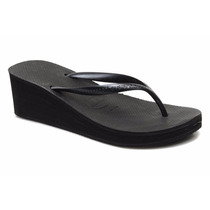 Ojotas Havaianas Dama High Fashion Taco Alto