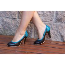 Zapatos De Cuero Artesanales La Mora - Modelo Roxie