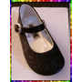 101 - Guillermina Negra C/glitter Ult Nº 18 Vestir Fiesta