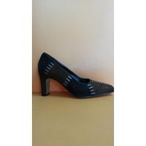 Zapatos Dama Cuero Genuino Muy Elegante!!!!