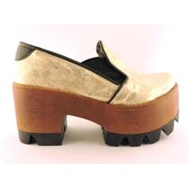Zapatos Plataformas Tacos Mocasines Borcegos Botas Elásticos
