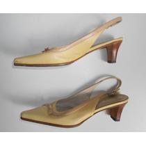 Zapatos Cuero - Marca Blaque - Numero 35,5 Ó 36