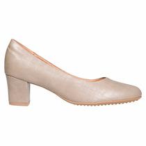 Zapato Clasico Mujer Piccadilly Comodo Sintetico Beige