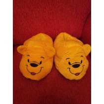 Pantuflas Winnie Pooh- Bordadas
