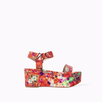 Zapatos Sandalias Plataforma Zara Trafaluc Importados Velcro