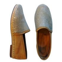 Panchas Alpargatas Zapatos Mujer Strass Cuero Chatas Chatita