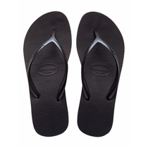 Ojotas Havaianas High Fashion Negras