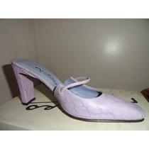 Zapatos Mujer Fiesta Sandalias Cuero Retro Vintage