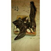 Botas Lady Stork Marrones