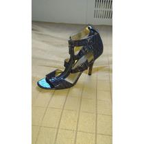 Zapatos Taco Stilleto Sandalias U.s.a Talle 38 Cierre
