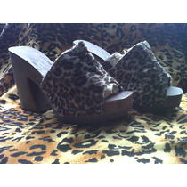 Zuecos Animal Print Unicos