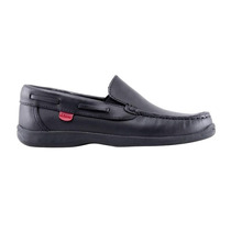 Zapatos Nauticos Colegial Kikers Negros Y Marrones