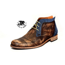 Botita - Jr Boots & Shoes - Art. 4615 Bi Azul