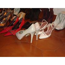 Lote De Zapatos Y Botas, Excelente.