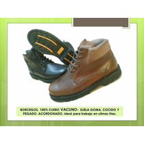 Zapato Confort Vestir Sport, Suela Goma, Cuero 100%