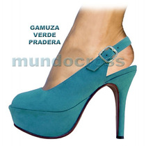 Mundocross Talles Grandes Zapatos Sandalias Boca Pez Colores