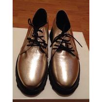 Zapatos Mujer Cuero Mishka 38 Nuevo!