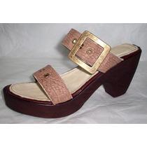 Calzado De Cuero Sandalias