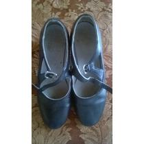 Zapatos De Baile Tipo Español Negros Nº 27