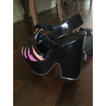 Sandalias Zapatos Plataformas Paruolo