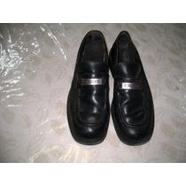 Zapatos Stone Hombre Cerrados T 43 Negros Suela Goma