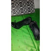 Zapatos Taco Chino Cuero Negro 37 Prune Paruolo