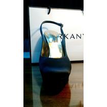 Zapatos Sarkany - Fiesta - Noche - Raso Negro - 39