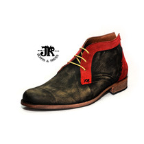 Botita - Jr Boots & Shoes - Art. 4615 Bi Rojo