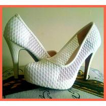 Elegantes Zapatos C/encaje Importados 2015!!!