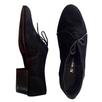 Zapatos Hombre Cuero Calzado Vestir Elegante Cordones Gamuza