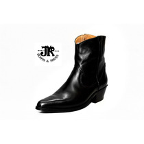 Botas Texanas - Jr Boots & Shoes - Art. 6046 Negra