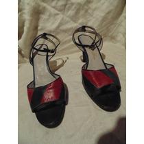 Sandalia Para Tango O Vestir Nº 37, Exelente Estado