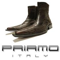 Botas Neotexan Bordada Priamo Italy Texanas [br185508]