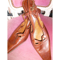 Zapatos Sandalias Proposta Altos Mujer N° 39 Impecables
