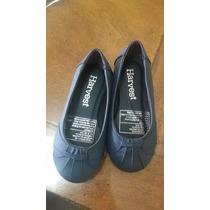 Zapatos Nena Importado Color Azul T 25
