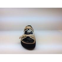 Sandalia Plataforma Goma Cuero Zafiano Nude #2773 - Natacha