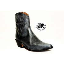 Botas Texanas - Jr Boots & Shoes - Art. 6046 Cl Gris