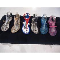 Sandalia Ojota Chatas Goma Zapato Mujer