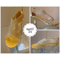 Hermoso Zapatos Importados Novia - 15 Años - Fiesta