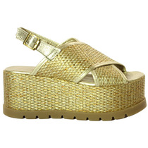 Sandalias Con Tiras Cruzadas Blast - Tops Zapatos