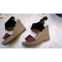 Sandalias Con Plataforma Importadas Origen China Talle 36
