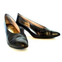 Zapatos Mujer Cuero Negro Talle 37 Muy Finos!