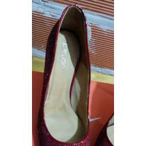 Zapatos Paruolo Con Glitter No Zarkany Prune